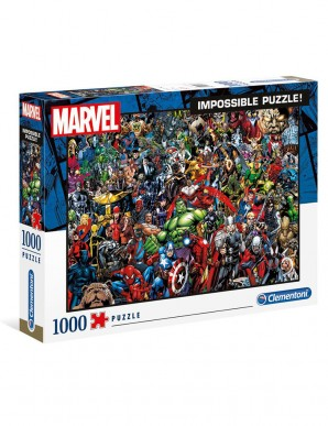 Puzzle Impossible - Marvel 80ème Anniversaire...