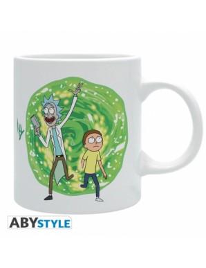 Mug - Portal - Rick and Morty - 320ML