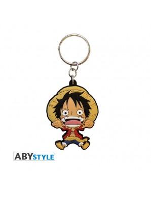 Porte-clef PVC - One Piece - Luffy