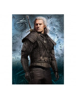 The Witcher puzzle Geralt of Rivia (500 pieces)