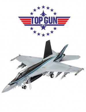 Top Gun : Maquette Maverick 1/48 F/A-18E Super...