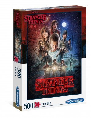 Stranger Things Puzzle Season 1 - 500 pieces