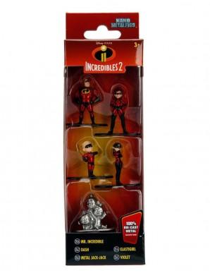 Disney pack 5 figurines Diecast Nano Metalfigs...