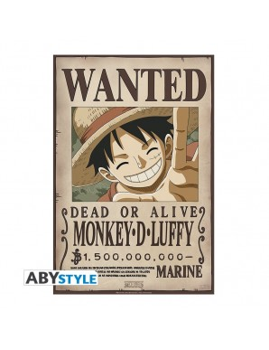 """One Piece - Set 2 Chibi Poster """"WANTED LUFFY ET..."""