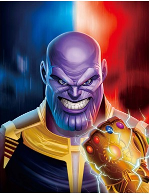 Poster Framed - Avengers -...