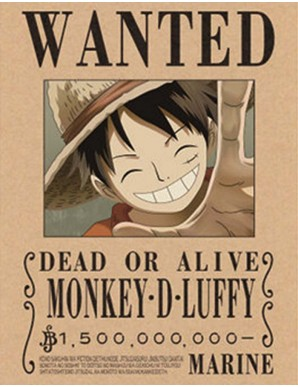 Poster Framed - One Piece -...