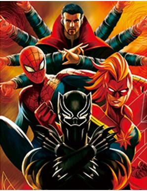 Poster Framed - Marvel...