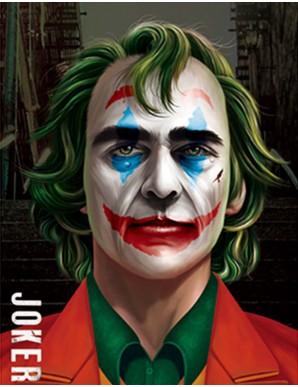 Poster Framed - The Joker -...