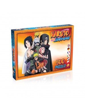 Naruto Shippuden Puzzle Characters (500 pieces)