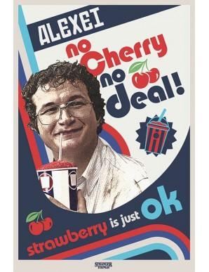 Stranger Things poster (Alexei) No Cherry No...