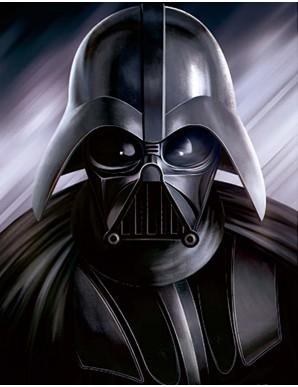 Décor mural encadré - Star Wars Dark Vador -...