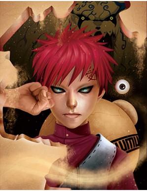 Poster Framed - Naruto - Gaara - 3D Print 30x40cm