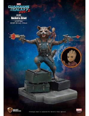 Rocket & Groot - Guardians of the Galaxy 2 1/1...