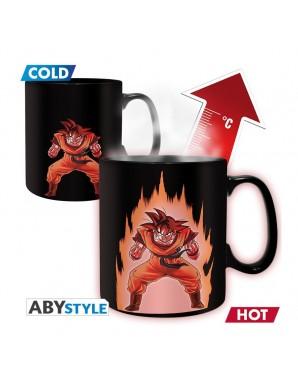 Thermo reactive mug - Son Goku Power UP -...