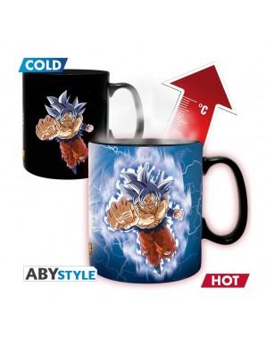 Thermo reactive mug -  Son Goku vs Jiren -...