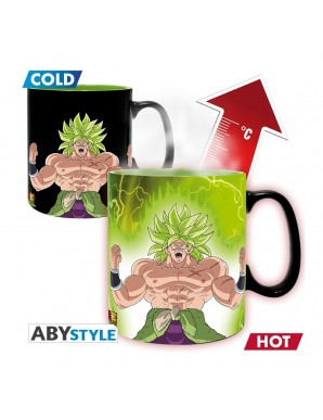 Tasse Thermo réactive - Broly et Gogeta -...
