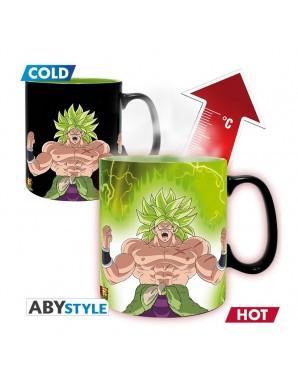 Thermo reactive mug -  Broly and Gogeta -...