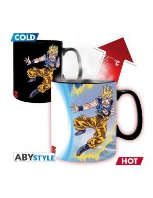 Thermo reactive mug -  Son Goku vs Buu - Dragon...