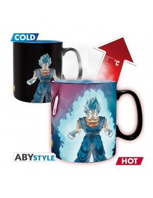 Thermo reactive mug -  Gogetto and Trunks -...