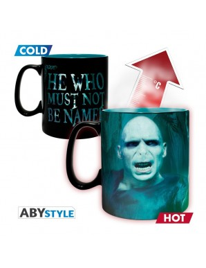 Tasse Thermo réactive - Harry Potter - Voldemort