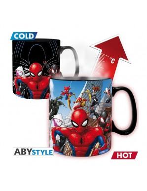 Tasse Thermo réactive - Marvel - Spiderman...
