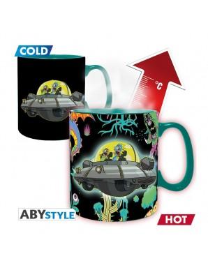 Thermo reactive mug -  Rick and Morty - Spaceship