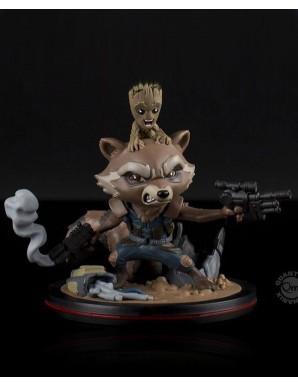 Rocket & Groot - Les Gardiens de la Galaxie Vol. 2 figurine Q-Fig  14 cm