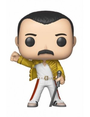 Queen POP! Rocks Vinyl Figurine Freddie Mercury Wembley 1986 9 cm