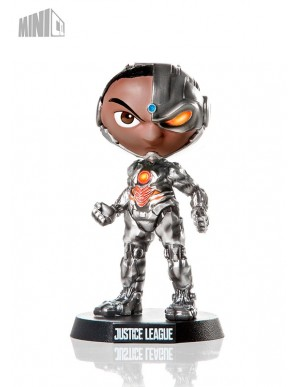 Cyborg MiniCo La Ligue des Justiciers figurine...