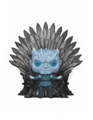 Night King on Iron Throne - Game of Thrones...