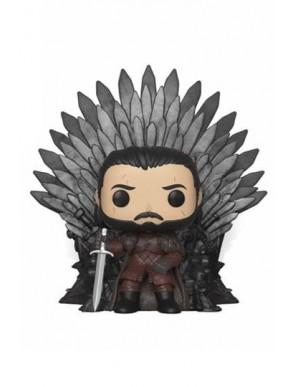 Jon Snow on Iron Throne - Game of Thrones POP! Deluxe Vinyl figurine 15 cm