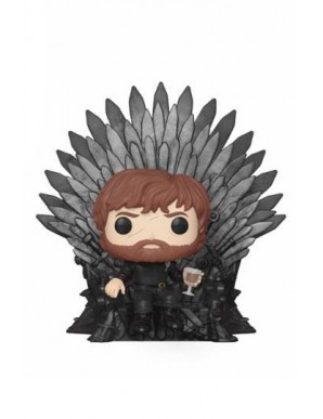 Tyrion Sitting on Iron Throne - Game of Thrones...