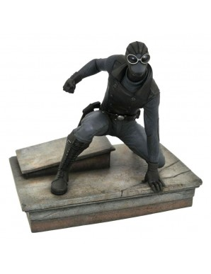 SpiderMan 2018 Marvel Video Game Gallery statuette SpiderMan Noir Exclusive 18 cm