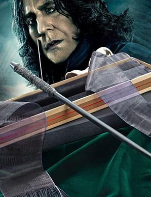 Harry Potter réplique baguette de Severus Rogue...