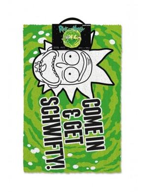 Rick adn Morty Doormat  - Get Schwifty 40 x 60 cm