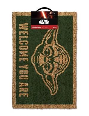Star Wars paillasson Yoda 40 x 60 cm