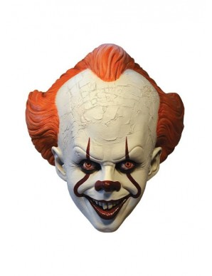 """""""He's back. 2017 Pennywise latex mask"""