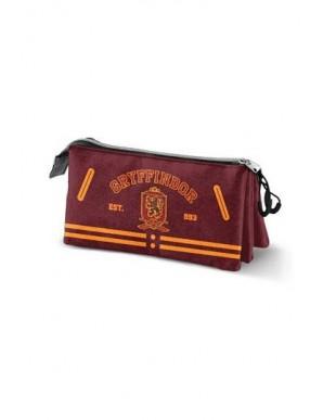 Harry Potter pencil case Gryffindor Logo Triple
