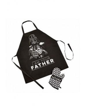 Star Wars Fête des pères tablier avec gant I Am Your Father