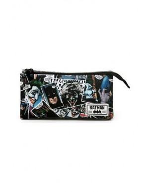DC Comics pencil case Joker Comic Triple