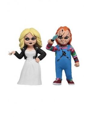 La Fiancée de Chucky pack 2 figurines Toony...