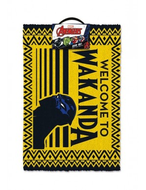 Black Panther paillasson Welcome to Wakanda 40...