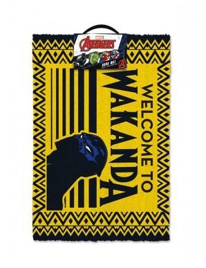 Black Panther Welcome to Wakanda doormat 40 x...