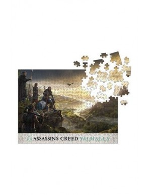 Assassin's Creed Valhalla puzzle Raid Planning (1000 pieces)