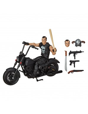 Marvel Legends Series figurine avec véhicule 2020 The Punisher 15 cm