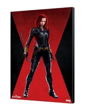 Black Widow Movie wooden board BW Red Room 34 x...