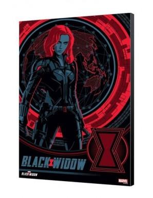 Black Widow Movie wooden board BW Blackops 34 x...