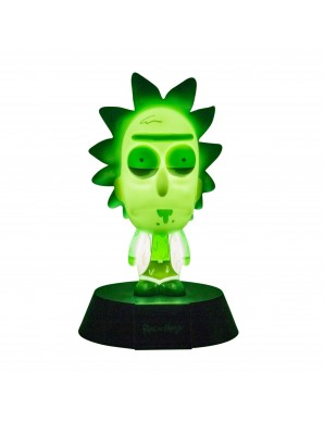 Rick & Morty veilleuse 3D Icon Rick Limited...