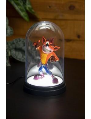 Crash Bandicoot lampe Bell Jar Crash Bandicoot...