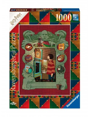 Harry Potter puzzle At The Weasley's (1000 pièces)